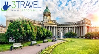 Autobusu ceļojums uz Krieviju - Lieldienas Sanktpēterburgā