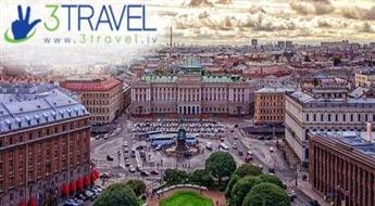 Autobusu ceļojums uz Sanktpēterburgu – 2 dienas (bezmaksas elektroniskā vīza)