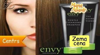 """Profesionālā """"Envy"""" matu kosmētika  no 12.50€ vai matu kopšanas procedūra+ griezums."""