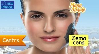 Attīroša un slaidinoša procedūra sejai ar Nāves jūras dubļiem par 16.90€ salonā New Image!