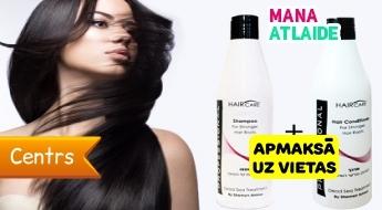 """Profesionāls šampūns + kondicionieris matiem """"Shemen Amour"""" par 4.90€ salonā """"Yofi""""!"""