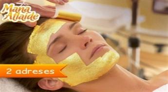 Ekskluzīva zelta vai sudraba sejas maska tikai 21.50€!