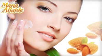 Saudzējošs mandeļu pilings veselīgai sejas ādai tikai 9.99€!