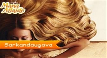 Ārstnieciska matu laminēšana ar zīdu + griezums + veidošana tikai 11.90€!