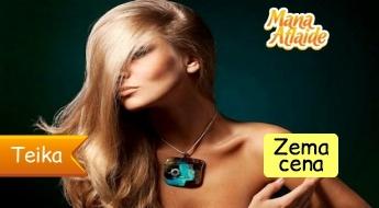 Ārstnieciskais Zīda komplekss+ griezums ar karsto žileti par 9.99€!
