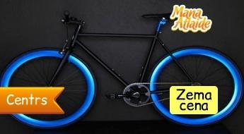 Moderns un ātrs pilsētas velosipēds FIXED GEAR BIKE tikai par 295€! Pasteidzies! Pieejami tikai divi riteņi!