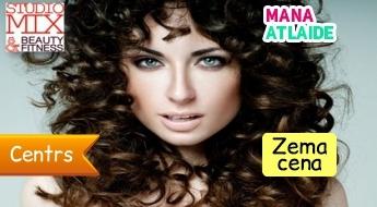 BIO-ilgviļņi matiem tikai par 15.90€ salonā ''StudioMix''!