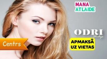 """Oxy mezoterapija + ultraskaņas tīrīšana tikai par 29€ salonā """"Odri Studija""""!"""