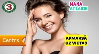 """Sejas mezoterapija ādas atjaunināšanai tikai par 14.50€ no """"Veselības centrs 3""""!"""