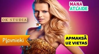 """Stilīgs matu griezums sievietēm no 7.90€ salonā """"OK Studio""""!"""