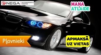 """Lukturu pulēšana no 14.90€ no """"Nega Autoserviss""""!"""