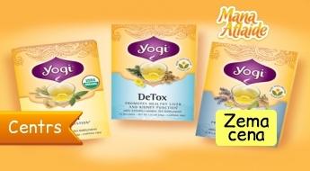 Tēja Yogi Tea skaistumam un veselībai tikai 2.70€!