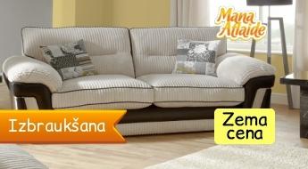 Tīrība un spodrība jūsu mājās! Dīvānu ķīmiskā tīrīšana 10.90€!