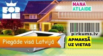 LED lampa 1W vai 3.5W ar saules bateriju no 12.90€ no Pirkums.lv! Piegāde pa Latviju!