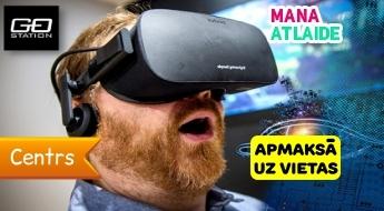 """2 biļetes par vienas cenu - 4.50€ uz ekstremālo atrakcijas virtuālo realitāti """"Extreme Cyber"""" no GoStation!"""