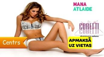 """Akurāta dziļā bikini vai kāju vaksācija visā garumā par 9.90€ salonā """"Coretti""""!"""
