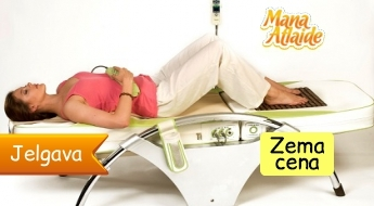 Nuga Best Jūsu veselības uzlabošanai: masāžas gulta no 4.90€!