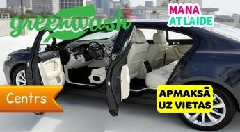 """Auto ķīmiskā tīrīšana par 49.90€ automazgātuvē """"GreenWash""""!"""