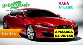 """Virsbūves pulēšana + Hi-Tech Yellow Wax par 59.90€ automazgātuvē """"Greenwash""""!"""