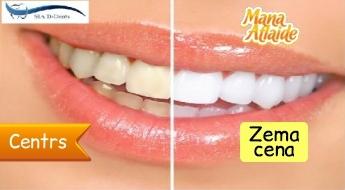 Офисное отбеливание зубов с системой Pola всего за 34.90€!