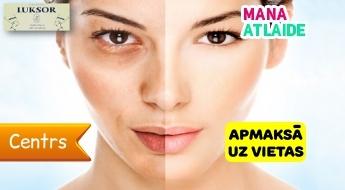 """Antipigmentācijas procedūra sejai ar glikolskābi par 19.50€ salonā """"Luksor""""!"""