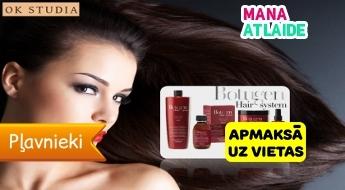 """""""Hair Botox"""" matu atjaunošanas procedūra par 9.99€ salonā """"OK Studia""""!"""