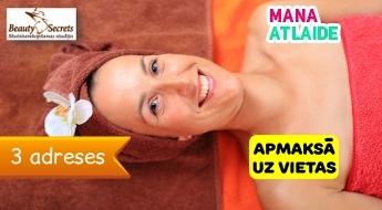 """Saudzējošs mandeļu pīlings veselīgai sejas ādai tikai 14.90€ salonā """"Beauty Secrets""""!"""