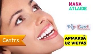 """Profesionāla zobu balināšana Opalescence Quick PF tikai par 70€ stomatoloģijā """"Vip Dent""""!"""