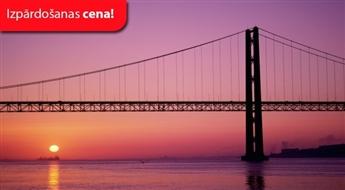 Portugāle ar atpūtu Algarvē + viesnīca ar Ls 1 avansu — norēķinies 24 mēnešu laikā / 11 dienas (Relaks Tūre) – Maksā 10% avansu, norēķinies 24 mēnešos!