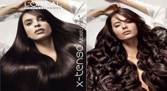 Moderna matu taisnošana ar L'Oreal X-Tenso produkciju salonā Dali ar 59% atlaidi