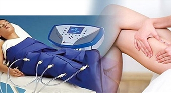 Skaistuma salons DZINTARA PĒRLE piedāvā unikālu procedūru – Limfodrenāžas zābakus (Pressoterapija). Kupona vērtība 3 procedūrām – tikai 12,00 Ls!