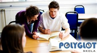 POLYGLOT valodu skola piedāvā angļu valodas kursus ar 55% atlaidi! Mācies viegli, ar prieku un tagad arī izdevīgi!