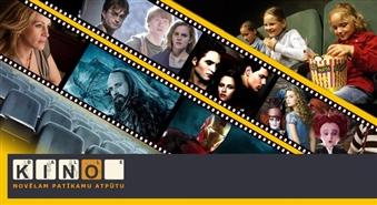 KINO BALLE Liepājā piedāvā: biļetes uz jebkuru filmu visās darba dienās līdz 17.00 tikai par 70 santīmiem + jebkurš popkorns ar 50% atlaidi!