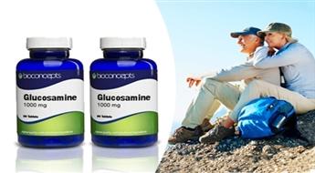 """Izbaudiet kustību brīvību! """"Bioconcepts Glucosamine"""" kapsulas Jūsu locītavu veselībai par puscenu!"""