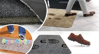 Nano brīnumpaklājiņš pie Jūsu durvīm! Lai netīrumi paliek ārpusē ar 57% atlaidi!