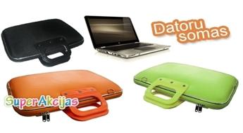 Izturīgas un stilīgas portatīvo datoru somas ar 50% atlaidi!