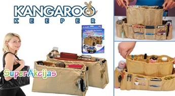 Organaizeru komplekts somai Kangaroo Keeper. Tagad Jūsu somiņā būs kārtība!