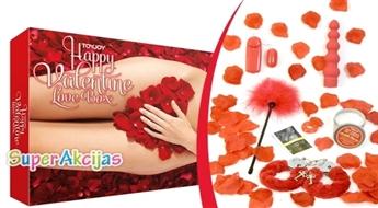"""Komplekts romantiskam vakaram """"LOVE BOX""""!"""