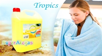 """Augstas kvalitātes veļas mīkstinātājs - koncentrāts """"DESTINATION - Tropics""""!"""