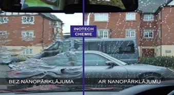 """Unikāla mašīnas vējstikla apstrāde, izmantojot NANO aizsarglīdzekli """"Nano Liquid glass"""" ar 53% atlaidi!"""