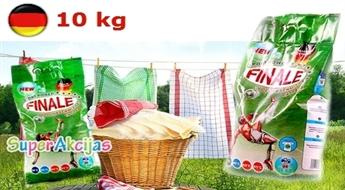 Jauns vācu veļas pulveris FINALE, efektīvs un kvalitatīvs veļas pulveris 10 kg iepakojumā!
