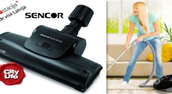 Vasarīgi tīrai mājai: universālā SENCOR TURBO Birste -53%