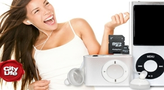 Paņem savu mīļāko mūziku līdzi! MP3 (2GB), MP4 (4GB) vai MP4 atskaņotājs ar kameru (4GB) līdz 53% lētāk!