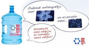 Izcils bio-enerģijas avots! MEMORY WATER (18.9 l) + koka stends + krāns + piegāde – 50%