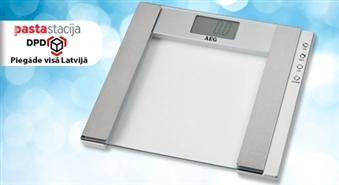 Liekie kilogrami tiek kontrolēti! Multifunkcionālie grīdas svari AEG -45%