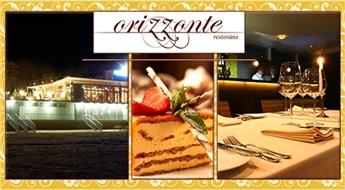 Gardēžu paradīze jūras krastā! Jūrmalas restorāna ORIZZONTE dāvanu karte Ls 10 vērtībā – 50%
