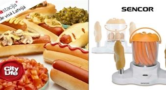 Pašam sava HotDog fabrika! Universālā Sencor HotDog pagatavošanas ierīce -33%