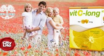 Ilgas iedarbības vitamīns VIT C- LONG no EkoMed – 50%