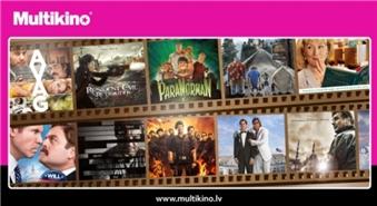 MULTIKINO piedāvā: biļete uz JEBKURU filmu (arī 3D), JEBKURĀ dienā un LAIKĀ septembrī un oktobrī -54%