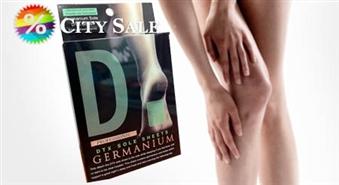 Lieliska priekšrocība optimālai veselībai! Japāņu Detox plāksteris DTX SOLE SHEETS GERMANIUM ar 40% atlaidi!